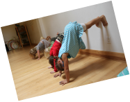 Kids Yoga in Edmonton, Glow Yoga